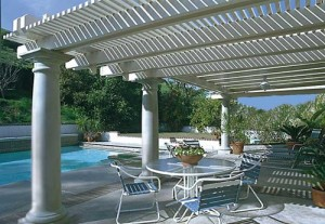 Aluminum Pergola in Cypress by Lone Star Patio Builders