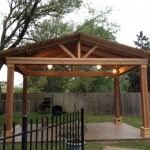 Cedar Pergola Design in Katy