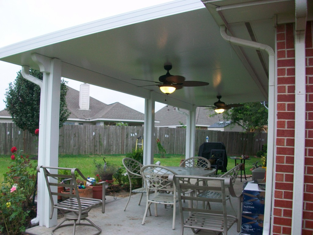 Patio Cover Built in Crosby
