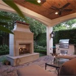 Custom Wood Covered Patio in Houston
