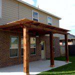 Affordable Cedar Pergola in Magnolia, Spring, Conroe, & The Woodlands