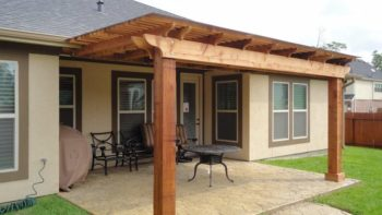 Pergola Pictures Attached To House Furnitureplans