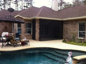 Conroe Screened Porches & Screened Patios