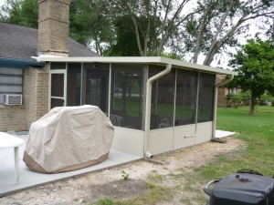 Screen Patio Enclosure in Porter, TX