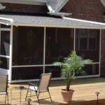 Houston Screen Rooms With Covered Patio