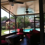 Screened In Patio Porch in Houston