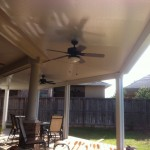 Covered Patio & Ceiling Fans in Katy