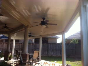 Covered Patio & Ceiling Fans in Waller
