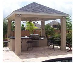 Houston outdoor kitchen designs lone star patio builders for Outdoor kitchen designs houston texas