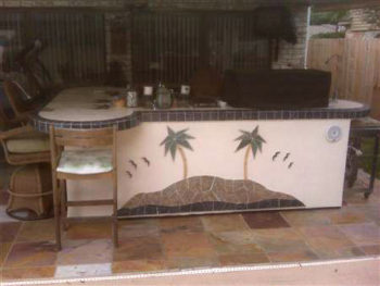 Customized Outdoor Kitchens In Houston Tx