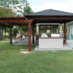 Cedar Patio Cover & Pergola in Houston