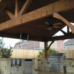 Cedar Patio Covers in Houston