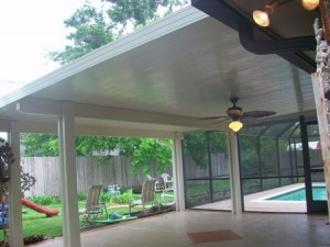Simple Patio Cover in Spring, TX