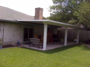Aluminum Covered Patio In Kingwood