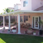 Patio Cover With Round Columns in Houston