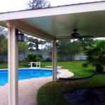 Inexpensive Covered Patio Design in Houston