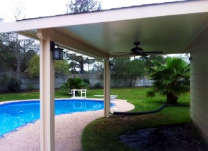 Covered Patio Design in Kingwood