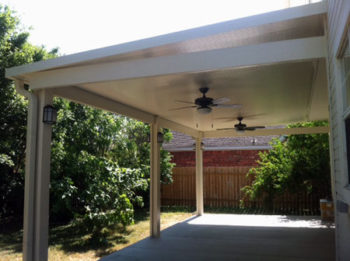 Aluminum Patio Construction in Cypress