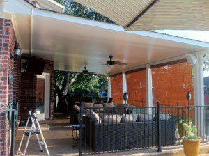 Aluminum Covered Patio & Deck in Magnolia