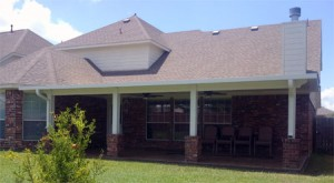 Optional Posts For Aluminum Covered Patios in Houston TX
