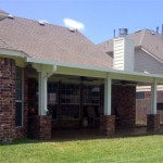 Aluminum Patio Cover Design Options in Houston