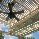 Houston Pergola With Ceiling Fan