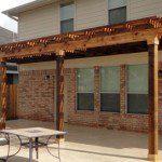 Houston Pergolas Made of Cedar