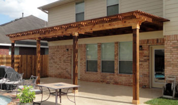 Magnolia Pergola Made of Cedar