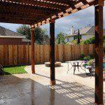 Cedar Pergola Contractor in Houston