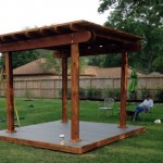 Pergola with Deck in Tomball