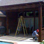 Building a Custom Kingwood Pergola