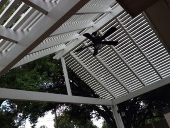 Willis Custom Pergola Patio Cover