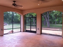 Screen Room in Houston Texas by Lone Star Patio Builders