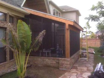 Patio Screens in Waller