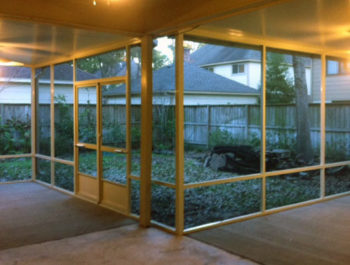 Crosby Screened Porch Walls