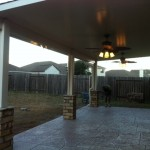 Patio Cover in Houston Texas by Lone Star Patio Builders
