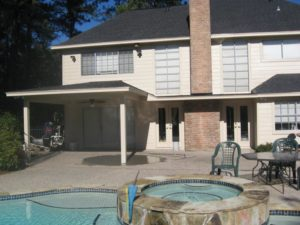 Arnsdale Covered Patio in Conroe