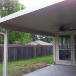Bardelon Patio Cover in Conroe