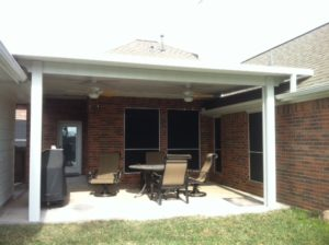Behne Patio Cover in Spring