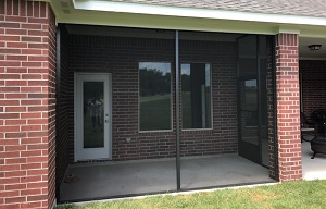 screened porch pearland